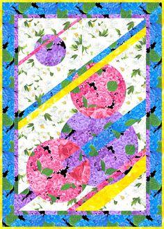 Flower Patch Wall Hanging Pattern TRQ-153 (intermediate, wall hanging)- $12.00