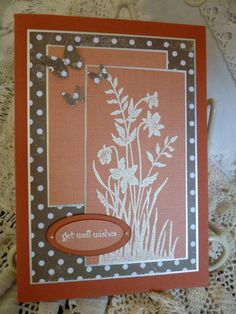 stampin up pinterest cards | Card using stampin up stamps