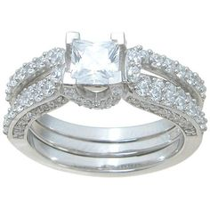 1.75 Ct Sterling Silver Interlocking Modern Bridal Ring Set *sz 7*. 1.75 Ct Sterling Silver Interlocking Modern Bridal Ring Set *sz 7* on Tradesy Weddings (formerly Recycled Bride), the world's largest wedding marketplace. Price $133.45...Could You Get it For Less? Click Now to Find Out!