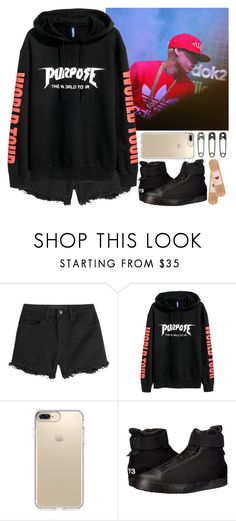 """""""At the concert Illionaire (Girlfriend Dok2)"""" by evil-maknae ❤ liked on Polyvore featuring Alexander Wang, Speck, Y-3 and Tim Holtz"""