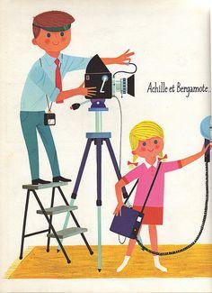 Achille et Bergamote illustrations