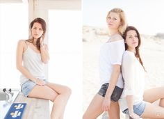 Modellenshoot strand Hoek van Holland met Judith & Laura #beach #portraits #bff #girlfriends