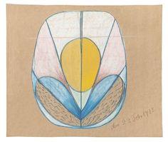 Hilma af Klint. Pionera de la abstracción Gustav Klimt, Paul Klee, Claude Monet, Mondrian, Vincent Van Gogh, Abstract Painters, Abstract Art, Tantra Art, Hilma Af Klint