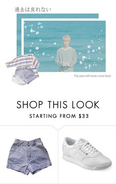 """""""please stay there a little longer"""" by xjooniechimsx ❤ liked on Polyvore featuring Reebok"""