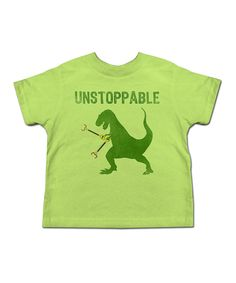 Another great find on #zulily! Key Lime 'Unstoppable' Tee - Toddler & Kids by American Classics #zulilyfinds