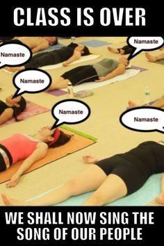 The song of our people! Yoga Meme, Yoga Humor, Inspiring Things, Namaste, Singing, Songs, Memes, Funny, People