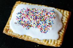 The secret is in the glaze that stays hard when you toast it!  Best Ever Homemade Strawberry PopTarts!