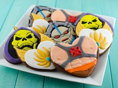 He-Man and The Masters of the Universe Cookies #MOTU