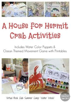 A House for Hermit Crab Activities - The Educators' Spin On It
