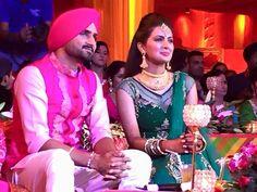 Harbhajan Singh and Geeta Basra Sangeet ceremony photos  http://apnewscorner.com/harbhajan-singh-and-geeta-basra-sangeet-ceremony-photos/