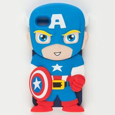 Marvel Chara-Covers Captain America iPhone 4/4S Case 214976200 | iPhone Cases | Tillys.com