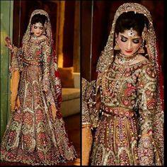Ali Xeeshan Latest Bridal Wedding Dresses Collection 2016-2017 (29)