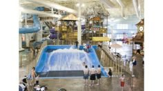 Located in the shadow of one of the Midwest's most accessible ski destinations, Boyne Mountain is home to Avalanche Bay, Michigan's largest waterpark. Spanning a whopping 88,000 square feet, Avalanche is open year-round, making a trip to its tropical 84-degree indoor wonderland a reality, après ski.  #boyne http://www.boyne.com/boynemountain/activities/indoor-waterpark