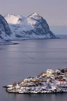 Husøy, Senja, Norway