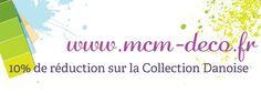 www.mcm-deco.fr - 10% de réduction sur la Collection Danoise