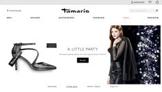 """For over 50 years, Tamaris has been a brand meeting the fashion needs of women seeking high quality at fair prices. With a brand awareness level of over 70%, Tamaris is the best known shoe brand in Europe. Its market promise """"Quality combined with design, zeitgeist and emotion"""" is as true as ever in the new online store after its relaunch in November 2016. Within just a few weeks, Mobizcorp realized the new Tamaris online store, from the conception to the full implementation."""