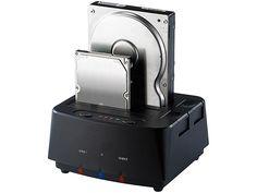 "Xystec Klon Festplatten Dock USB 3.0 für 2,5 & 3,5"" SATA HDDs"
