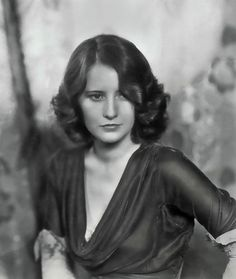 1930S Stars | 1930s movie star Barbara Stanwyck photographed in 1933 by Gmomma