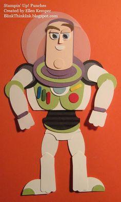 Buzz Lightyear Punch Art
