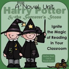 Let Harry Potter cast his spell on even your most reluctant reader!   This engaging unit was designed to ignite the magic of reading. Focusing on discussion and projects promotes contemplation, collaboration, and creativity.  What's Included: •Lesson plans with schedules for faster and slower paced instruction •List of student activities and ideas for themed classroom decorations •Tables for summarizing chapters (with and without author's purpose) •Discussion questions for every chap...