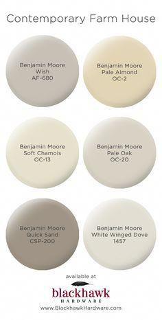 64 new Ideas kitchen paint colors benjamin moore revere pewter white doves Farmhouse Paint Colors, Paint Colors For Home, House Colors, Paint Colours, Country Paint Colors, Sand Color Paint, Ivory Paint Color, Small Bedroom Paint Colors, Best Greige Paint Color