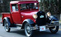 Pick Up Ford A modelo 1929 en exelente estado y funcionamiento, 12volt y freno hidraúlico. http://www.arcar.org/ford-a-55248