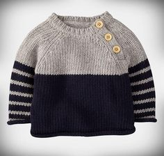 Diy Crafts - -Mini Boden 'Winter' Sweater (Infant) available at Nordstrom Baby Boy Sweater, Knit Baby Sweaters, Winter Sweaters, Pullover Sweaters, Knitting Sweaters, Baby Boy Knitting Patterns, Baby Sweater Patterns, Baby Cardigan Knitting Pattern, Knitting Ideas