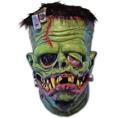 Halloween Masks, Scary Halloween Masks, Scary Halloween Costumes and Props Latex Halloween Masks, Halloween Costumes, Halloween Ideas, Halloween Drawings, Halloween Makeup, Frankenstein Mask, Ed Roth Art, Mascaras Halloween, Arte Black