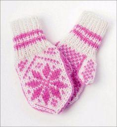 Baby Knitting Patterns, Craft Patterns, Free Knitting, Knit Mittens, Mitten Gloves, Baby Mittens, Scandinavian Pattern, Baby Pants, Drops Design