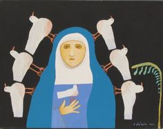 TOMIE DE PAOLA - Our Lady of the Doves I LOVE THIS AND WANT A PRINT OF IT ZOMG!
