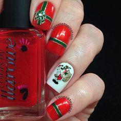 christmas by tipsandtopcoat #nail #nails #nailart