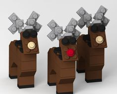 16 Lego Christmas Decorations (with Downloadable Building Guides!)