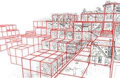 marco casagrande presents modular paracity for habitare in helsinki