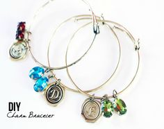 If you love the look of stackable bracelets, you are going to be amazed at how quickly you can create multiple bracelets ready to be worn in minutes!