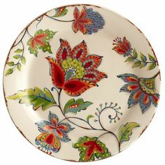 I have never met a plate I love more. Pottery Painting, Ceramic Painting, Ceramic Art, Pottery Plates, Ceramic Pottery, Pottery Art, Painted Ceramic Plates, Decorative Plates, Plates And Bowls