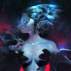 Ahmed-Aldoori-concept-art-illustratoin-midnight_elf an evren should look like this