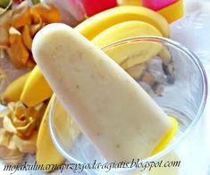 Moja kulinarna przygoda: Lody bananowe na patyku