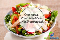 One Week Paleo Meal