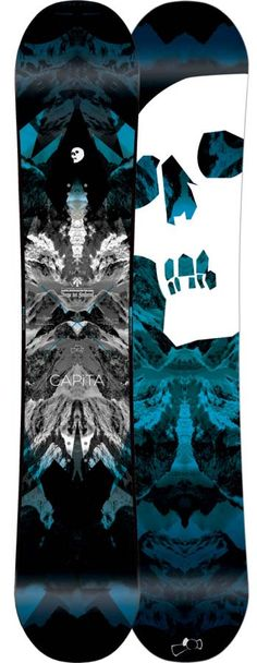 Capita Black Snowboard of Death Snowboard! I may need to add this to my quiver.