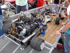 Yamaha R1 powered Go Kart. Top speed of  181mph.