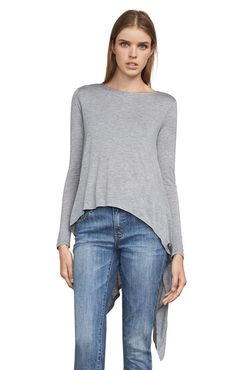 Roxanna High-Low Top High Low Top, Pullover, Sweatshirts, Blouse, Long Sleeve, Sleeves, Sweaters, Shopping, Tops
