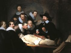 The Anatomy Lesson of Dr. Nicolaes Tulp by Rembrandt van Rijn Wrapped Canvas Graphic Art Baroque Painting, Baroque Art, Diy Painting, Michael Lang, Rembrandt Paintings, Rembrandt Art, Art Paintings, 7 Arts, Anthony Van Dyck