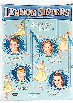 lennon sisters paper dolls!
