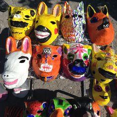Afbeeldingsresultaat voor papier mache masker