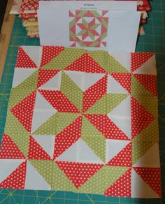 APPLE PIE IN THE SKY QUILT ALONG BLOCK 8 ({Sisters and Quilters})