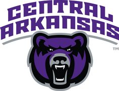 Central Arkansas Bears Alternate Logo on Chris Creamer's Sports Logos Page - SportsLogos. A virtual museum of sports logos, uniforms and historical items. Currently over on display for your viewing pleasure Virtual Museum, Bear Logo, Sports Logo, Birthday Gifts, Branding, Conway Arkansas, History, Logos, University