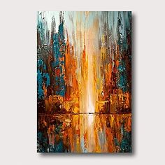 Blue Abstract Painting, Oil Painting On Canvas, Grand Art Mural, Large Canvas Art, Texture Painting, Animal Paintings, Beautiful Paintings, Modern Art, Acrylics
