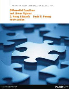 Differential Equations and Linear Algebra: Pearson New In…