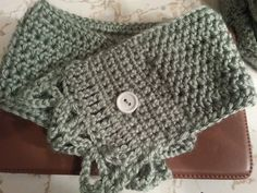 Scarflet I made based on this free pattern (also on my Fun with Crochet board)