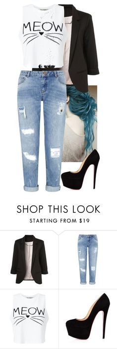 """""""Aubriella 1"""" by kate-reads on Polyvore featuring Miss Selfridge"""